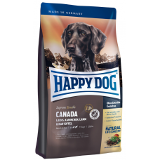Happy Dog Canada (Хэппи Дог Канада) корм для собак с повышенной потребностью в энергии (лосось, кролик, ягненок) 12,5кг+4кг