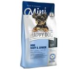 Happy Dog (Хэппи Дог) Mini Baby & Junior (Хэппи Дог Мини беби) сухой корм для щенков мелких пород с 4 недель, кормящих и беременных сук