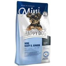Happy Dog Mini Baby & Junior (29/16) Мини беби сухой корм для щенков мелких пород с 4 недель, беременных и кормяших сук