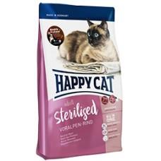 Happy Cat Sterilised (Хэппи Кэт) сухой корм для стерилизованных котов и кошек /альпийская говядина/