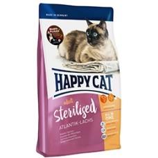 Happy Cat Sterilised (Хэппи Кэт) сухой корм для стерилизованных котов и кошек /атлантический лосось/