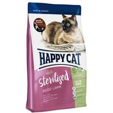 Happy Cat Sterilised (Хэппи Кэт) сухой корм для стерилизованных котов и кошек /пастбищный ягненок/