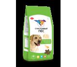 Счастливый пёс для взрослых собак с чуствительным пищеварением Ягненок и рис [13 кг]