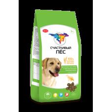 Счастливый пёс для взрослых собак с чуствительным пищеварением Ягненок и рис [3 кг]