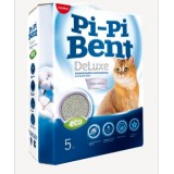 Pi-Pi Bent (Пи ПИ Бент) DeLuxe Clean cotton комкующийся наполнитель с ароматом хлопка 5 кг НОВИНКА