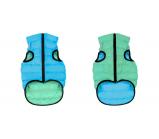 AiryVest (ЭйриВест) Lumi Курточка двухсторонняя светящаяся (салатово-голубая) разные размеры