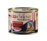 ANIMONDA (Анимонда) CARNY SENIOR с говядиной и сердцем индейки для пожилых кошек 7+ 200г х 6 шт