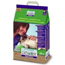 Cat's Best Nature Gold (Кетс Бест Натюр Голд) комкующийся древесный наполнитель для кошачьего туалета