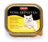 ANIMONDA (Анимонда) VOM FEINSTEN конс. Индейка с сыром для кастрированных кошек 100г х 32 шт