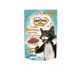 Мнямс паучи для взрослых кошек Рыбный фестиваль (лосось, креветки, форель) 100 г