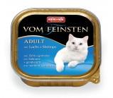 ANIMONDA (Анимонда) VOM FEINSTEN ADULT консервы Лосось / креветки для кошек 100г х 32 шт