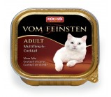 ANIMONDA (Анимонда) VOM FEINSTEN ADULT конс коктейль из разных сортов мяса для кошек 100г х 32 шт