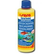 3000 SERA TOXIVEC (средство для нейтрализации ядов в воде-хлора,аммиака,нитритов,позволяет снизить частоту подмен воды)