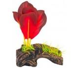 PENN-PLAXРаспылитель декоративный РАСТЕНИЕ НА БРЕВНЕ красное (PS115)