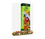 Padovan Stix pappagalli Лакомые палочки из семян с фруктами для средних и крупных попугаев 100гр х 2 шт.