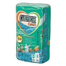 CareFresh COLORS наполнитель бумажный  голубой для птиц и мелких животных 10 л