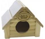 Green Farm «Изба» для мелких грызунов 12х14,5х11,5 см.(13405)
