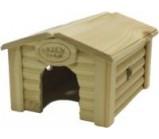 Green Farm Дом с коньковой крышей для мелких грызунов 18х14х12,5 см.(13407)