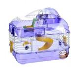 KREDO Клетка для хомяка с электронным счетчиком 33,5х25х28 см. (М-02), подарочная упаковка