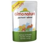 ALMO NATURE CLASSIC консервы для кошек Тунец в желе (пауч)(54339)55 гр х 24 шт.