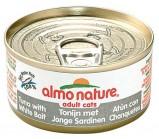 ALMO NATURE CLASSIC консервы для кошек с Тунцом и Сардинками 140гр(54356)