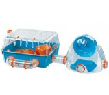 FERPLAST COMBI 2 Клетка для хомяков с мини-спортзалом 79,5 x 29,5 x h 26,3 cm