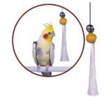 PENN-PLAX ВА526 Игрушка для птиц КИСТОЧКА С БУБЕНЧИКОМ большая 15СМ