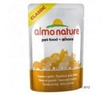 ALMO NATURE CLASSIC консервы для кошек с Тунцом и Курицей 55грх24шт (пауч)(54352)