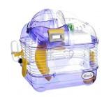 KREDO Клетка для хомяка с электронным счетчиком 26х20х27 см. (М-01), подарочная упаковка