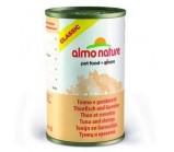ALMO NATURE CLASSIC консервы для кошек с Тунцом и Креветками 140гр(54359)