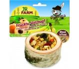 JR FARM 06791 Чаша деревянная с фруктами