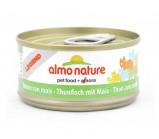 ALMO NATURE LEGEND консервы для кошек с Тунцом и Сладкой кукурузой 70гр(54716)
