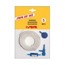 8813 SERA AIR SET S Набор аксессуаров для компрессора: Шланг 2м,обратный клапан,регулятор,распылитель