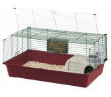 FERPLAST(Ферпласт) Клетка для кроликов RABBIT 100 DELUXE (ХРОМ) 101,5 х 53 х 33,5 см