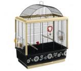 FERPLAST (Ферпласт) Клетка для птиц PALLADIO 3 DECOR, 49 х 30 х 64 см., комплект, черная