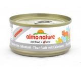 ALMO NATURE LEGEND консервы для кошек с Тунцом и Кальмарами 70гр(54714)