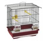 FERPLAST (Ферпласт) Клетка для птиц GIUSY черная 35x24x36,5 см комплект