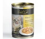 Edel Cat (Эдель Кэт) консервы для кошек нежные кусочки в желе Курица и утка [400 г]