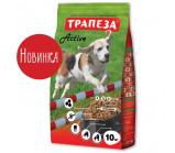 Трапеза - Актив сухой корм для собак, средних пород с повышенной физической активностью [10 кг]