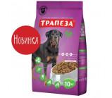 Трапеза - Фит сухой корм для собак, подверженных регулярным физическим нагрузкам [10 кг]