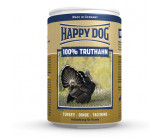 Happy Dog (Хэппи Дог) 100%  truthahn консервы  для собак с индейкой [400 г]