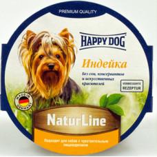 Happy Dog NaturLine Хэппи Дог нежный паштет для собак Индейка