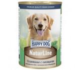 Happy Dog  (Хэппи Дог) naturline консервы для собак из телятины с овощами [400 г]