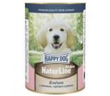 Happy Dog (Хэппи Дог) naturline консервы для щенков ягненок с печенью, сердцем и рисом  [400 г ]
