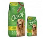 Оскар сухой корм для взрослых собак средних пород c ягнёнком и рисом [12кг]