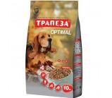 Трапеза - Оптималь для собак сухой корм [10 кг]