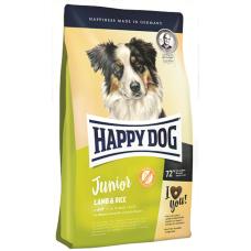 Happy Dog Junior lamb&ricе Юниор сухой корм для щенков с 7 до 18 месяцев всех пород
