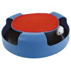 """Trixie (Трикси) Игрушка для Кошек """"Мышка в Ловушке"""" + когтеточка 41411"""