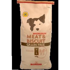 Magnusson (Магнуссон) Meat&Biscuit Grain Free Беззерновой корм для взрослых собак с нормальным уровнем активности