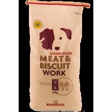 Magnusson (Магнуссон) Meat&Biscuit Work Корм для собак с высоким потреблением энергии – 50% свежего мяса